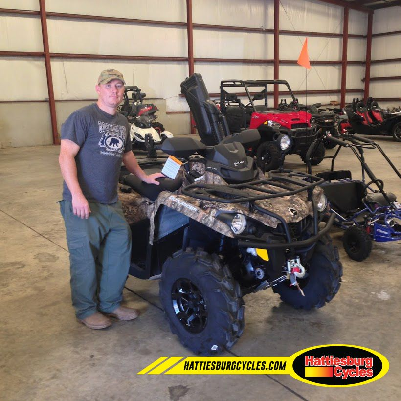 Thanks to The Craft family from getting a 2016 Can-Am Outlander L 570. @HattiesburgCycles