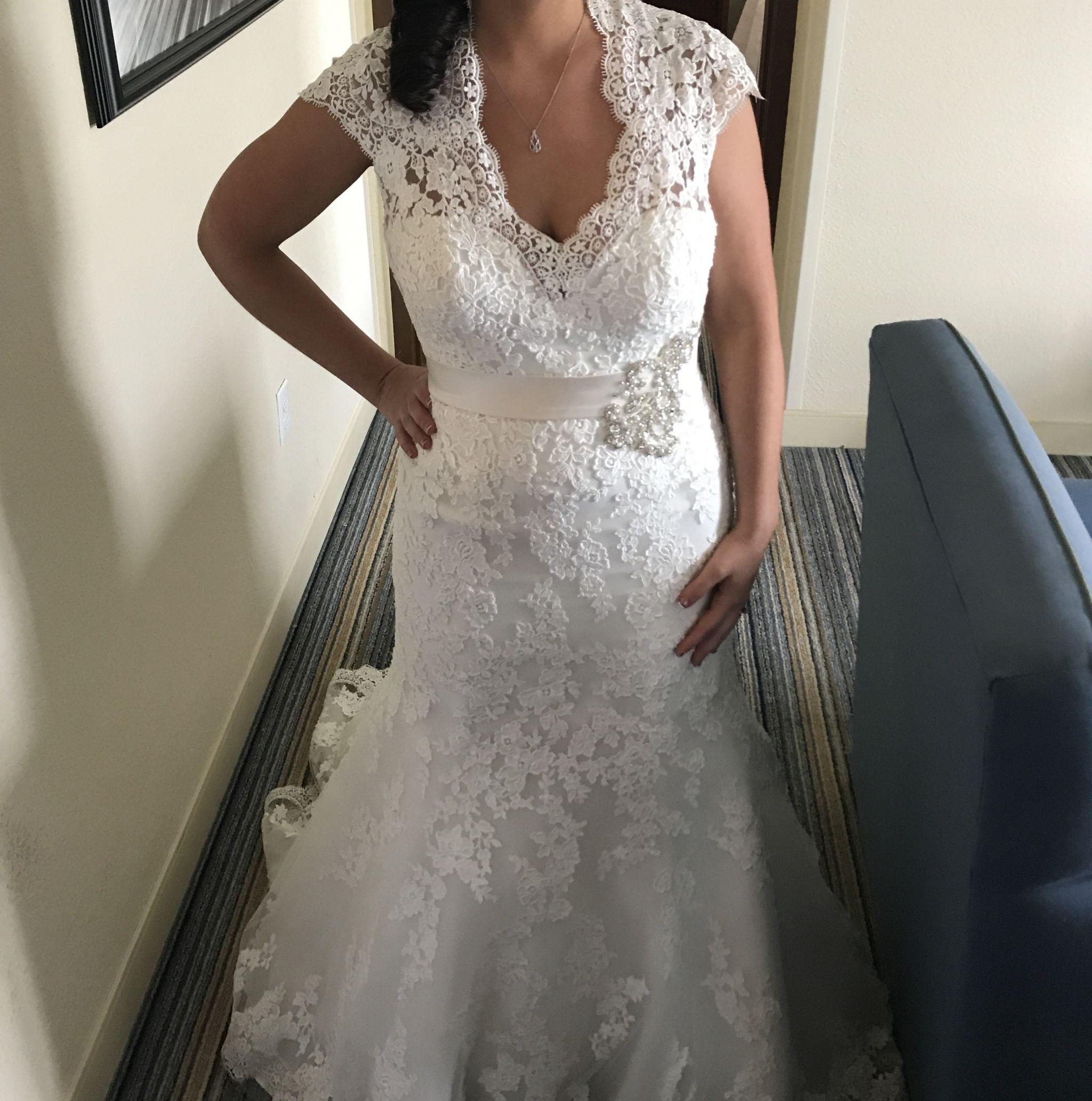 Allure Bridals 9064, $199 Size: 10   Used Wedding Dresses   Wedding ...