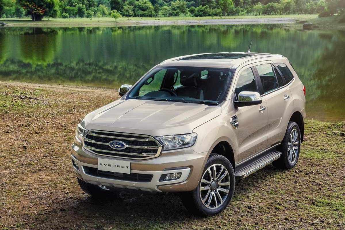 2019 Ford Everest Endeavour Launched In Thailand Ford