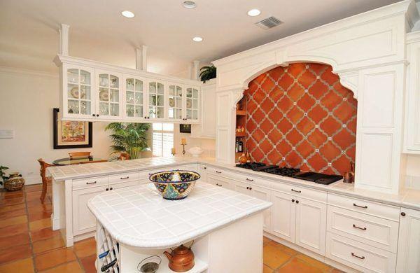 25 Beautiful Spanish Style Kitchens, Kitchen Cabinets In Spanish