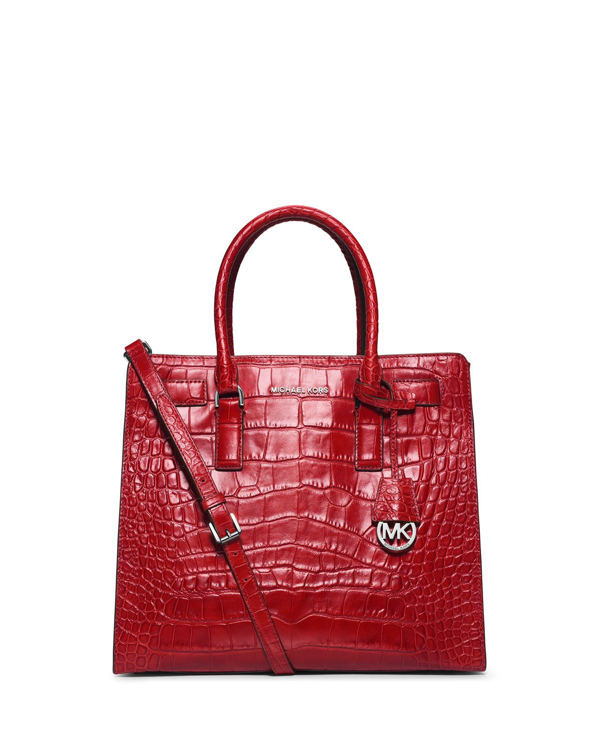 Michael Kors croc embossed