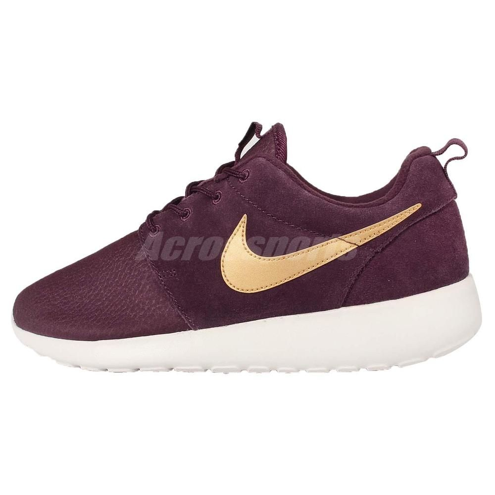 outlet store 04559 bb74b Nike Roshe One Suede Rosherun Mahogany Mens Running Shoes Sneakers 685280 -270