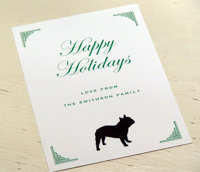 Personalized french bulldog holiday cards from fiona designs on etsy personalized french bulldog holiday cards from fiona designs on etsy m4hsunfo
