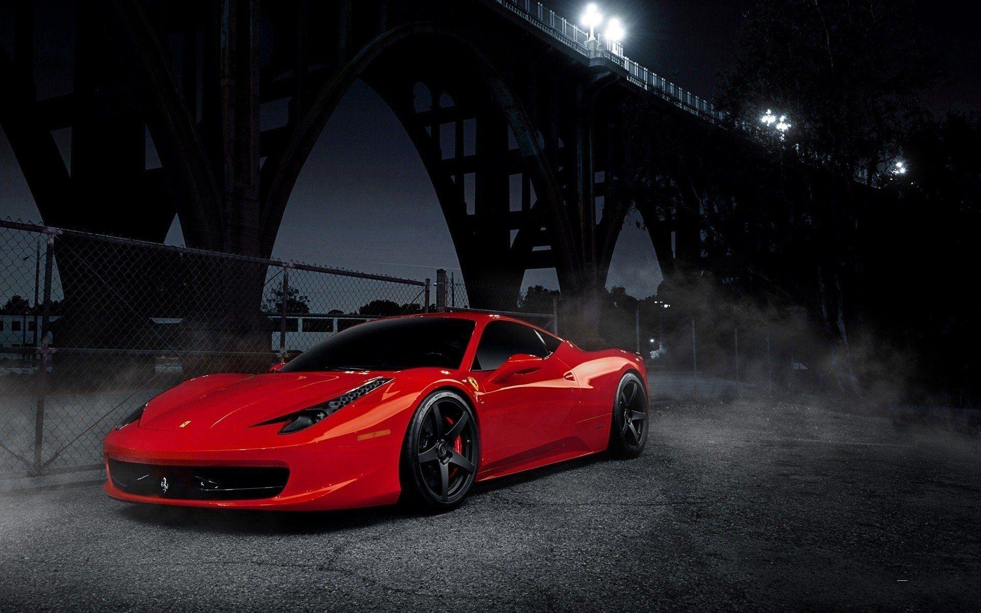 Обои Феррари, Ferrari 458 italia, улица. Автомобили foto 14