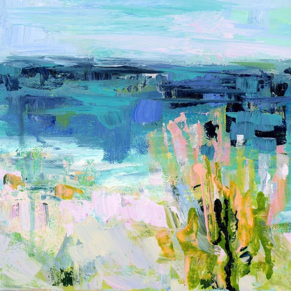 Somewhere By The Sea Ii Painting Prints Abstract Art Painting Painting