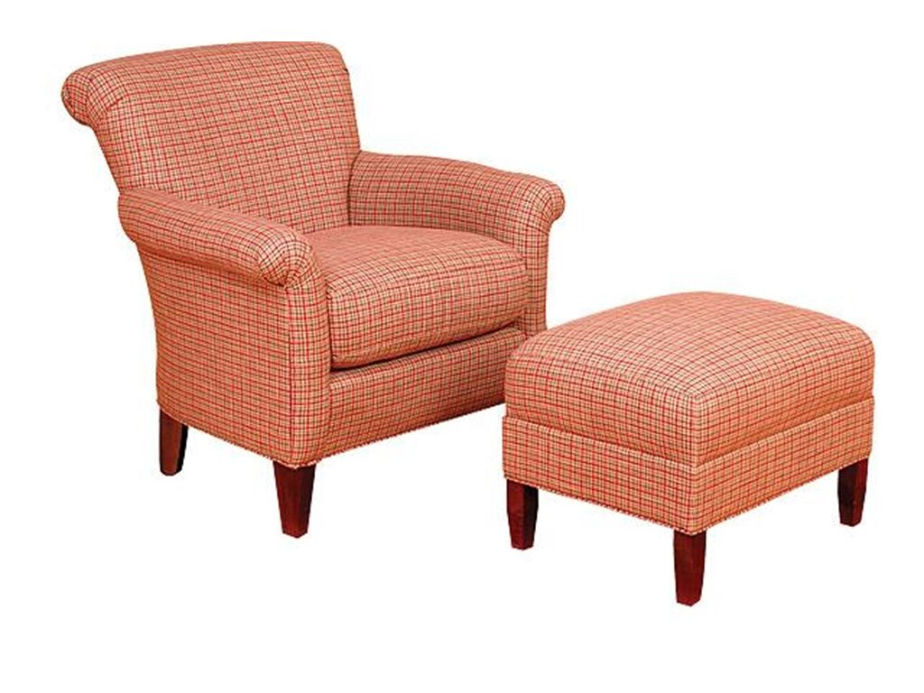 King Hickory Living Room Francis Fabric Chair 671