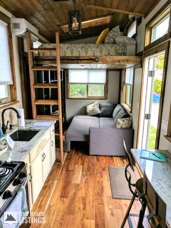 Teton Tiny Home - Tiny House for Sale in Ogden, Utah #houseinterior