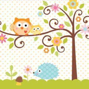 Happi Tree Baby Shower Napkins - £2.45