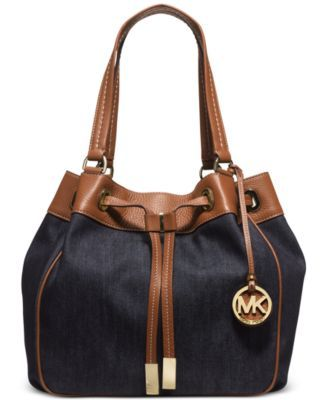 7164612dc403 MICHAEL Michael Kors Marina Large Drawstring Tote - Handbags & Accessories  - Macy's