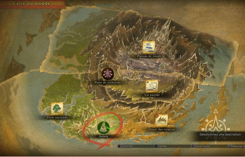 Monster Hunter World World Map Monster Hunter World Map   Monster hunter world, Monster hunter
