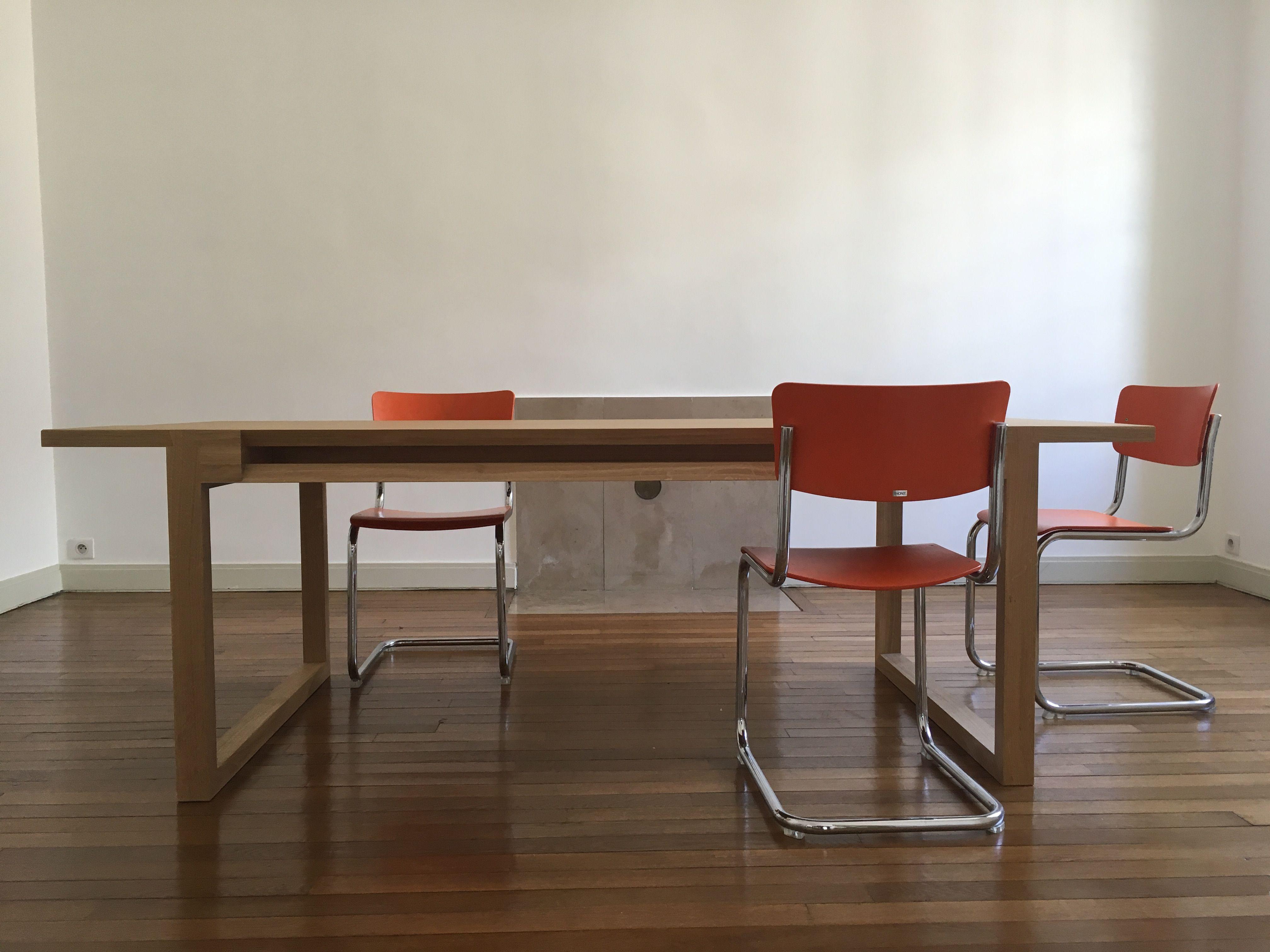 Thomas salle à Dumoulin de Dining table table par manger RL3j54A