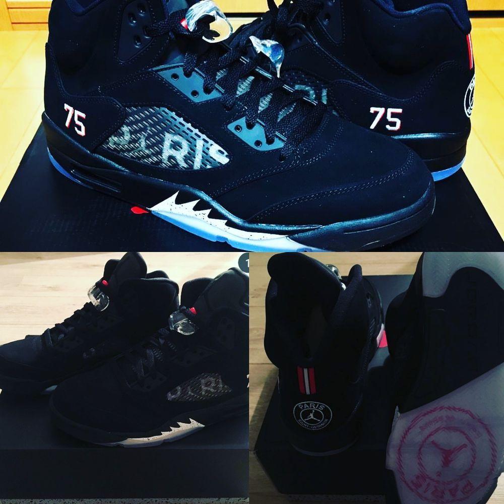 premium selection a9782 c81db Air Jordan 5 Retro PARIS SAINT GERMAIN PSG V Size 10.5  fashion  clothing   shoes  accessories  mensshoes  athleticshoes (ebay link)