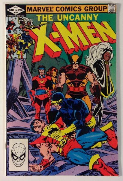 The Uncanny X-Men #155 – 1st App. of The Brood / Tigra + Starjammers App. - Claremont Story VF 8.0