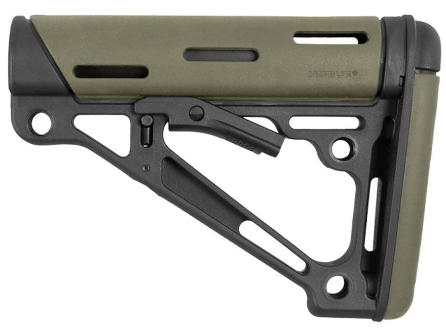 Product detail of Hogue OverMolded Collapsible Stock AR-15, LR-308