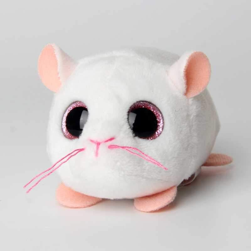 1e63f8918e1 10CM Mini Original Ty Plush Toys Beanie Boos Big Eyes fox unicorn Pocket  TSUM Candy pig