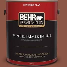 behr premium plus 1 gal s180 7 true copper flat exterior on behr premium plus colors id=54777