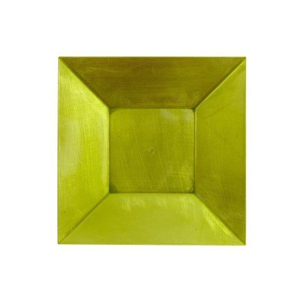 Pier One Green Square Lacquer Charger ($2.48) ? liked on Polyvore featuring home  sc 1 st  Pinterest & Pier One Green Square Lacquer Charger ($2.48) ? liked on Polyvore ...
