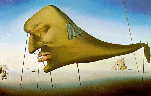 Salvador Dalí. Sleep, 1937