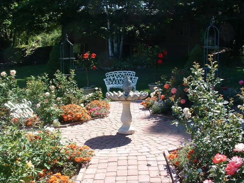 Small Rose Garden Plans Small Rose Garden Design Rose Garden