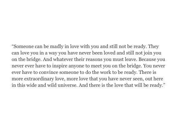 there is more extraordinary love.