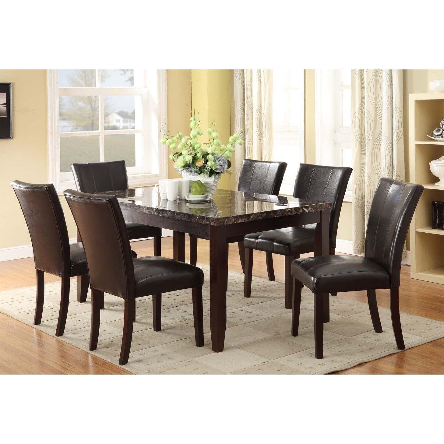 Kitchen Table Sets Black