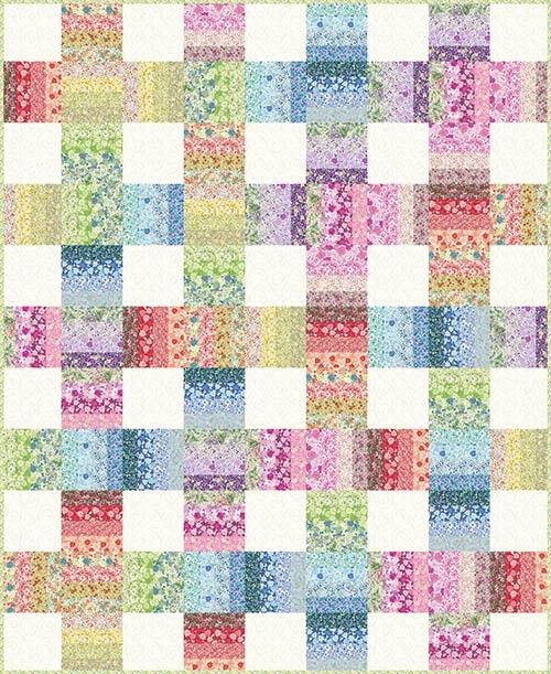 Strippy Weave Quilt - jelly roll | Quilts | Pinterest | Keepsake ... : weave quilt pattern - Adamdwight.com