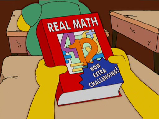 Simpsons and Math ~ The Best Of Imgur