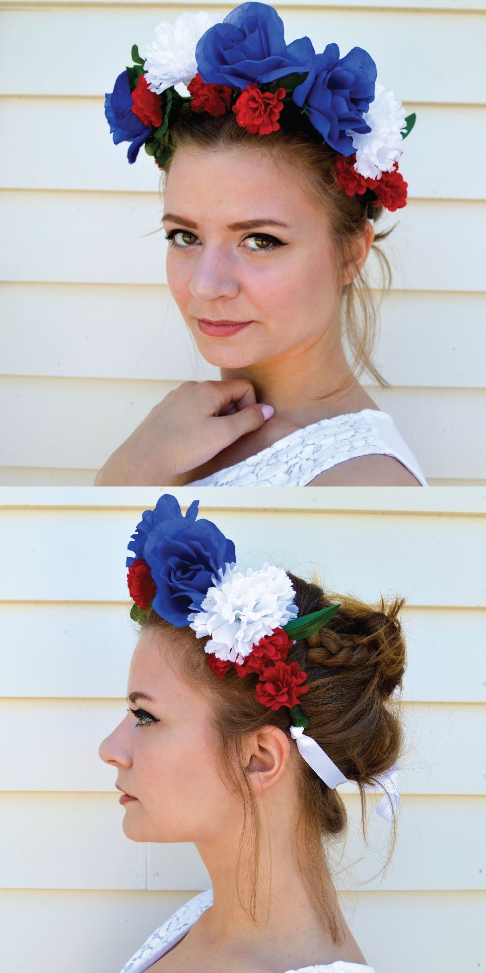 How To Make A Flower Crown Pretty Flowers Flower Headbands And