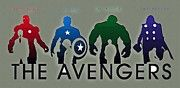Avengers The Poster by Super Hero