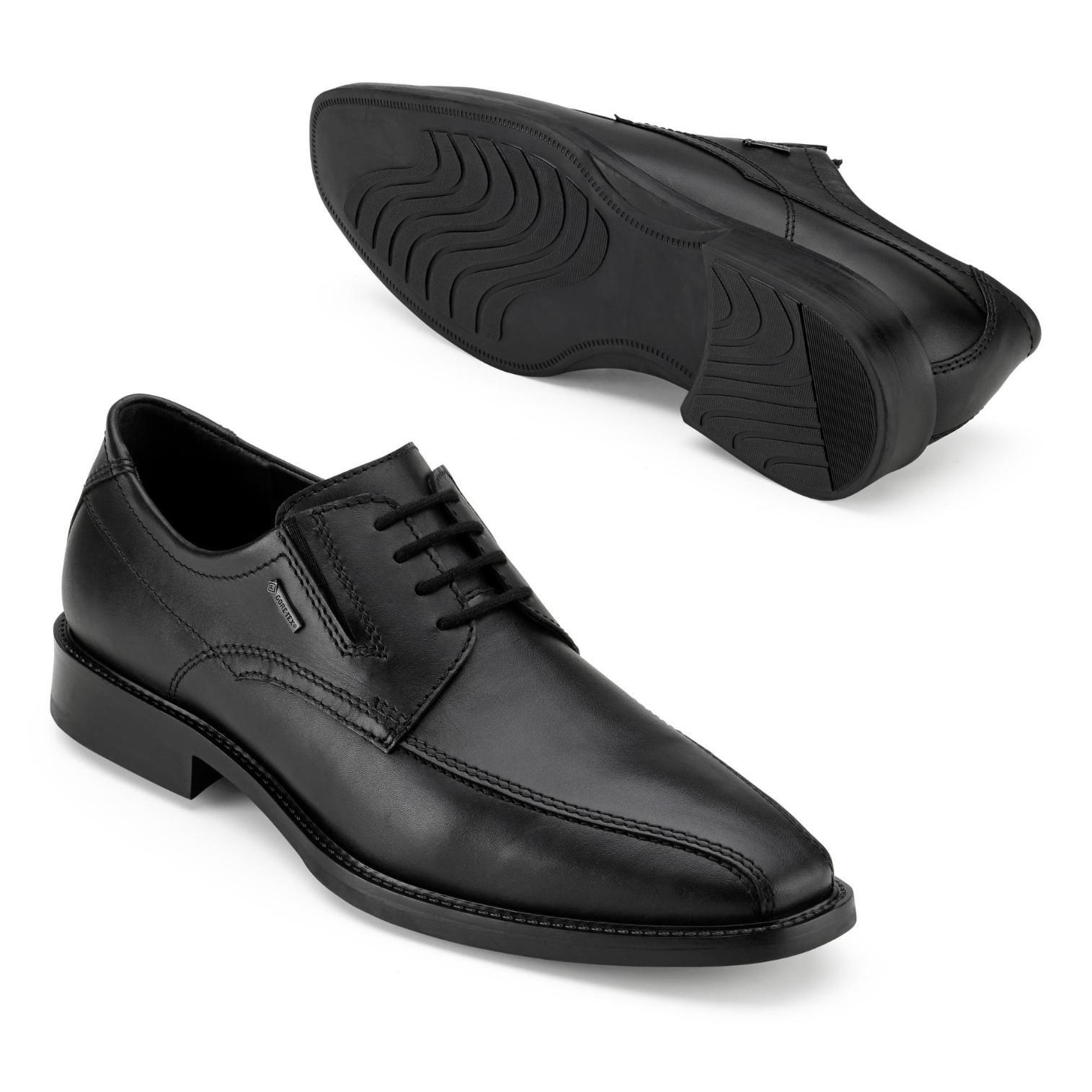 Fretz Gore Tex Schnürschuh In Farbe Schwarz Um 39 Reduziert Online Kaufen Männer Stiefel Schnürschuhe Business Schuhe