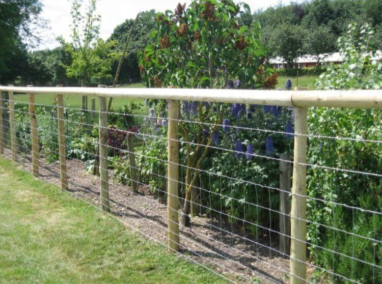 10 Beste Hog Wire Fence Design Und Ideen Fur Ihren Garten In 2020 Wire Fence Fence Landscaping Farm Fence