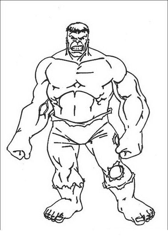 Coloriage Dessins. Hulk 12   Dibujos colorear   Pinterest