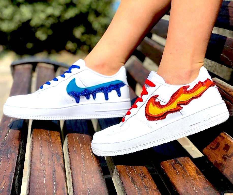 air force 1 con baffo