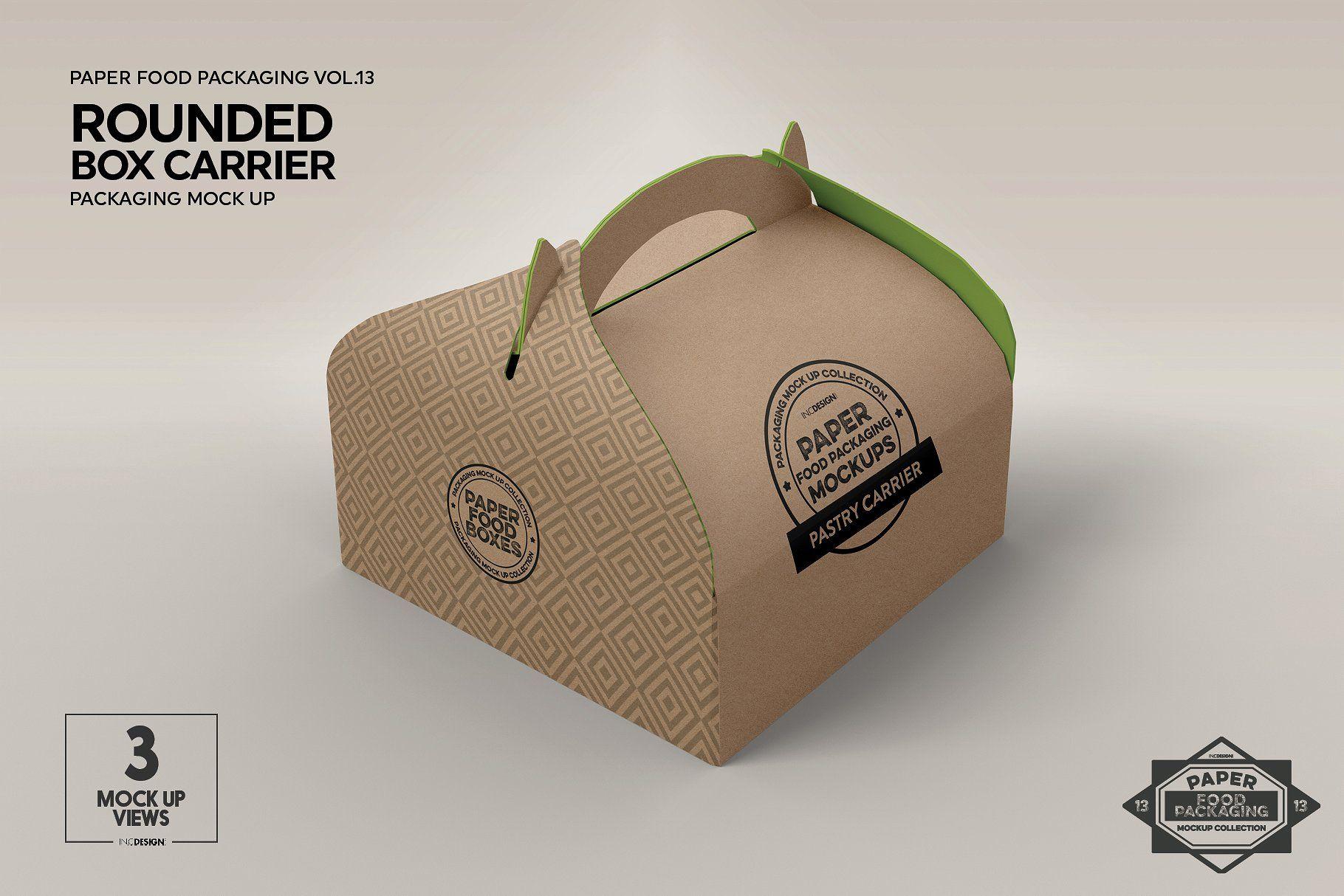 Download Vol 13 Food Box Packaging Mockups Food Box Packaging Packaging Mockup Free Packaging Mockup