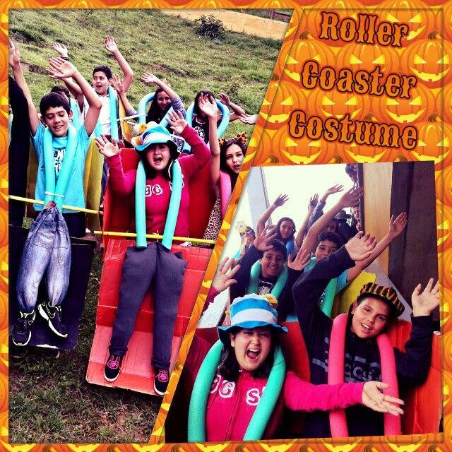 Groupal costume Roller coaster Final Halloween costume 2017 - team halloween costume ideas
