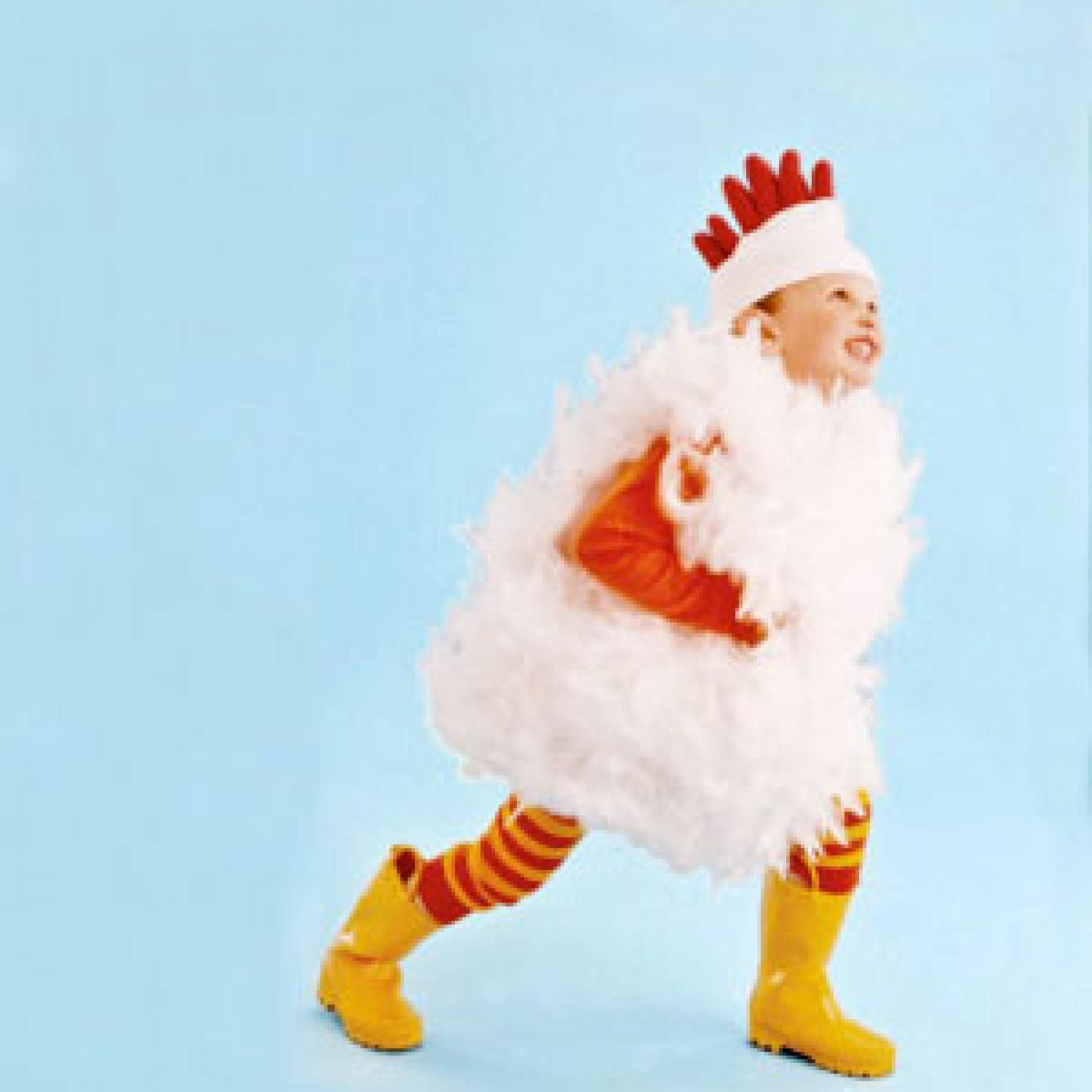 Make a Chicken Costume   Chicken costumes, Costumes and Halloween 2017