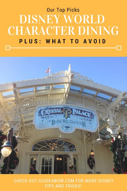 Disney Character Dining – A Few Top Picks – Guide4WDW.com