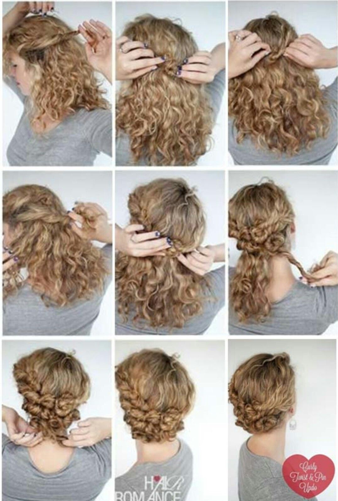 I Really Need To Learn How To Do Some More Styles Curly Hair Styles Naturally Curly Hair Up Curly Hair Styles