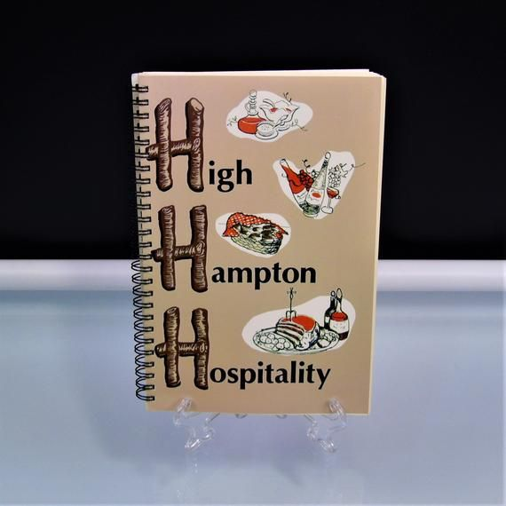 Vintage 1984 Cookbook North Carolina High Hampton Hospitality By Lily Byrd Cook Book NC Regional Recipes #cookingandhouseholdhints