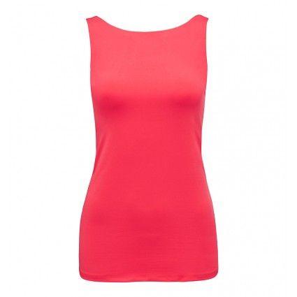 Kendra High Neck Basic Tank Buy Dresses, Tops, Pants, Denim, Handbags, Shoes and Accessories Online. JTC0837FT