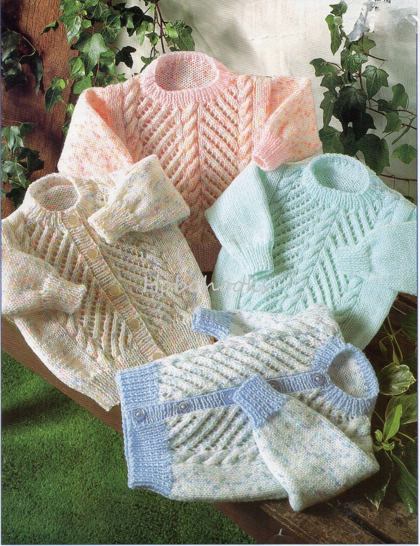 Baby Knitting Pattern Childrens Knitting Pattern sweater jumper ...