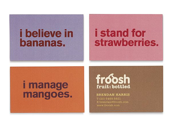 Froosh Brand Identity And Packaging By