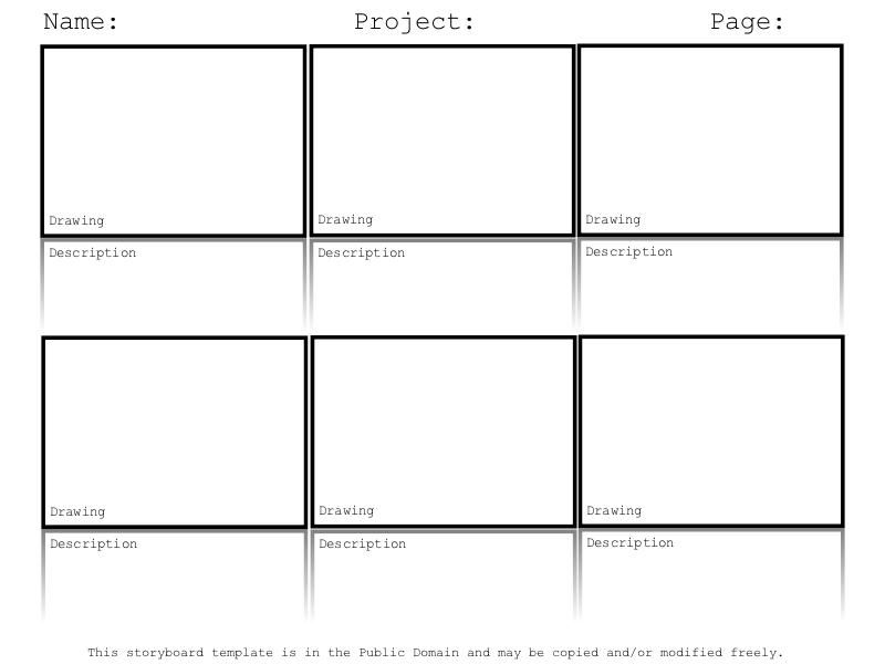 Doing A Digital Storytelling Lesson? Hereu0027s A Free Storyboard Template.