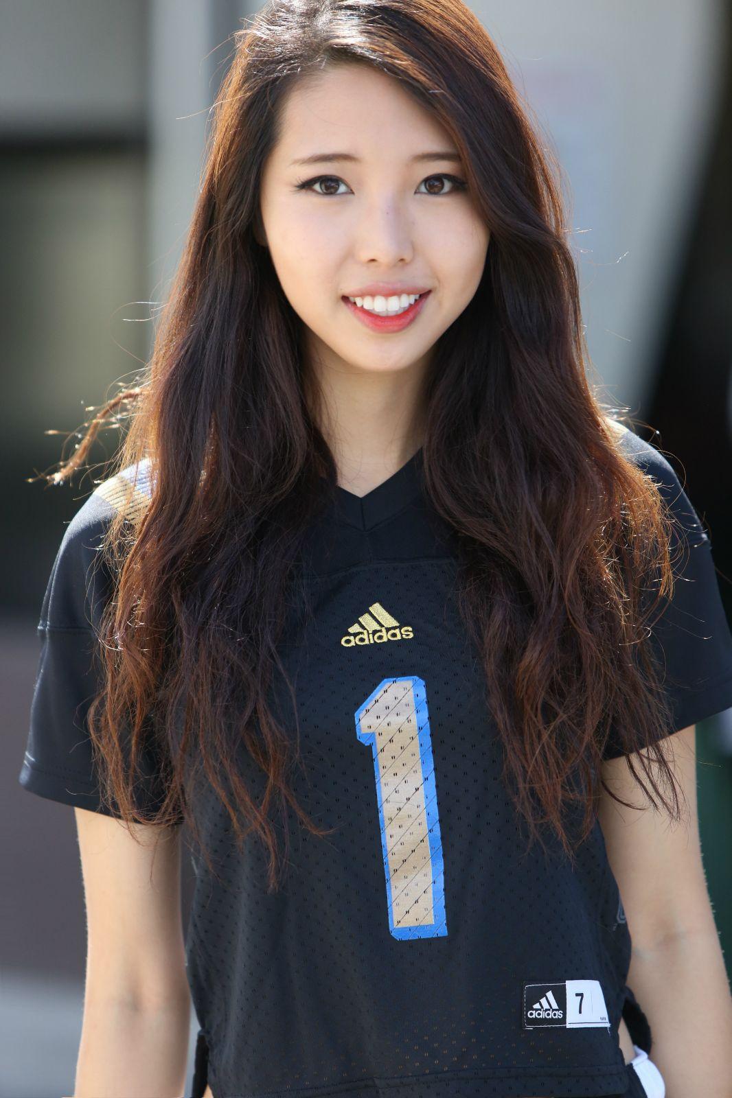 American asian girl