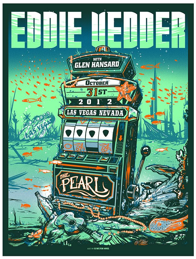 Smashing Gig Poster Illustrations by Munk One