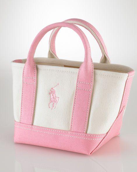 dc851c7b8a Pink Pony Mini Tote - Pink Pony Ralph Lauren Handbags - RalphLauren ...