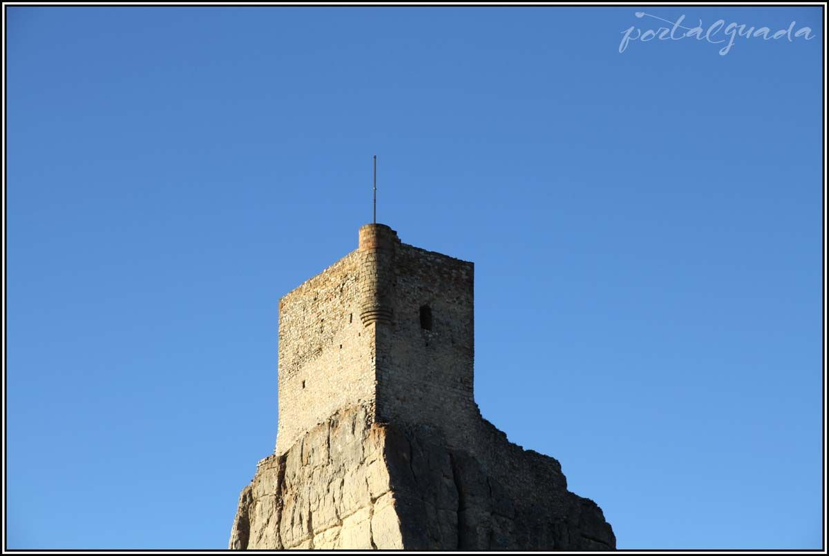 Torre del Castillo de Atienza, Guadalajara - España www.portalguada.com PortalGuada