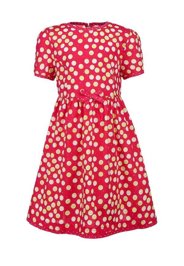 Платье Tom Tailor для девочек. Цвет: розовый. Сезон: Весна-лето 2014. С бесплатной доставкой и примеркой на Lamoda. http://j.mp/