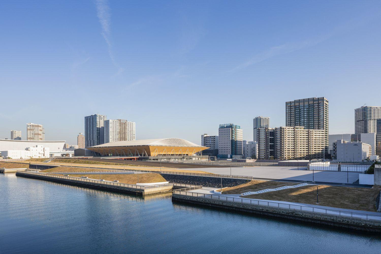 Gallery Of The Ariake Gymnastics Centre Nikken Sekkei 8 In 2020 Gymnastics Center Tokyo Olympics Gymnastics