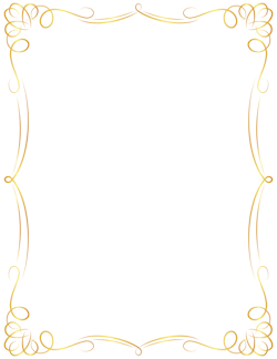 Awesome Golden Border Clipart